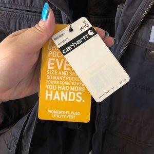 Carhartt Jackets & Coats - Carhartt women's El Paso Utility Vest